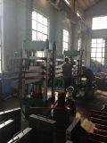 Aile en caoutchouc de vulcanisation de presse d'aile en caoutchouc corrigeant la presse