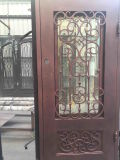 Whole Handmade Wrought Iron Single Door