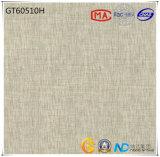 azulejo de suelo gris claro de cerámica de la absorción 1-3% del material de construcción 600X600 (GT60510+60511) con ISO9001 y ISO14000