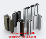 Customed Aufbau-Aluminium-/Aluminiumstrangpresßling-Profil für die Windows-Türen industriell