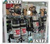 Feuerwehrmann-Gang-Luft-Becken selbstständig