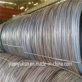 Le fil laminé à chaud de normes du fournisseur AISI de la Chine enroule le prix de 6.5 millimètres de Tangshan
