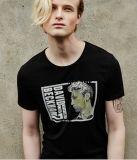 T-shirt en caoutchouc en gros d'impression de bonne qualité de mode