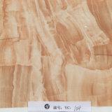 Пленка желтого Brown ширины Yingcai 1m напечатанная мрамором гидрографическая