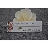 Nuevo Hangtag de la colección para la tela de la ropa de las mujeres