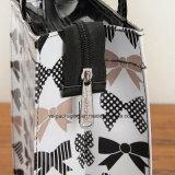 Soem-zurückführbare transparente Belüftung-Reißverschluss-Einkaufstasche