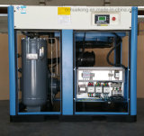 compresor de aire rotatorio del tornillo 50HP 7-10bar de la velocidad estándar