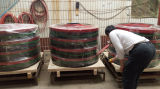Доска юбки двустороннего уплотнения транспортера резиновый и струбцина обхода