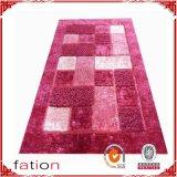Moderne Ausgangspolyester-Noppe-Ansammlung 100% legt Bereichs-Wolldecken mit Teppich aus