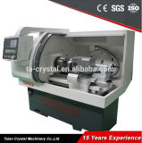 Torno automático horizontal pequeno do CNC de 2 Aixs China com Fanuc Ck6432