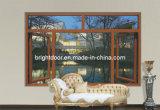 Casement Windows de /Aluminium do indicador de vidro/do indicador vitrificação dobro com alta qualidade