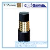 Boyau hydraulique de tresse en acier de SAE100 R1at En853 1sn