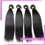 Прямые человеческие волосы утка волос Weavings двойные