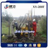 Plate-forme de forage de puits d'eau de Xy-200f 200m, foreuse utilisée de forage à vendre