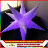 Bola/estrella colgantes inflables de la iluminación de Fatanstic LED para la decoración del partido