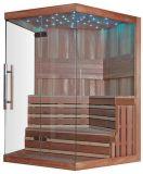 Fácil instalar o tipo quarto seco da sauna das luzes luxuosas do diodo emissor de luz (M-6037)