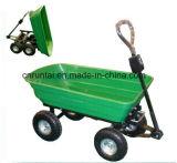 Hochleistungsvier Rad-Garten-Schlussteil-Hilfsmittel-Karre