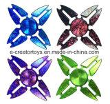 최신 판매에 있는 유행 알루미늄 합금 손 방적공 삼각형 게 모양