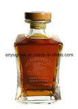 Botella estupenda 750ml del licor del vidrio de pedernal de la alta calidad