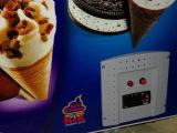 Замораживатель комода индикации мороженного двери Tempered стекла (SD-350)