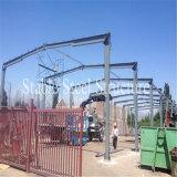 チリの鉄骨フレームのボイラー家の構築