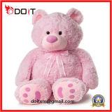 Urso enchido macio da peluche do brinquedo do luxuoso da graduação gigante da pele do dia dos Valentim da promoção