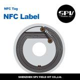 NFC Hf 애완 동물 레이블 Ntag213 ISO14443A RFID