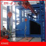 Grande machine à crochet de nettoyage à sec de grenaillage