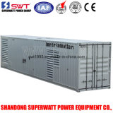 1500kVA 50Hz 40 Hauptquartier-Behälter-Generator