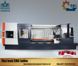 Torno profissional do CNC da base lisa de Ck61100 China