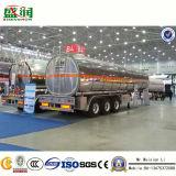 Niedriger Preis-Aluminiumkraftstoff-Tanker für Milch/Bier/Saft