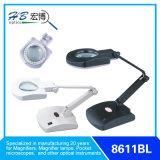 Vergrößerungslampe des Schreibtisch-LED (8611BL)