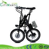 Portable, der elektrisches Fahrrad-Fahrrad mit schwanzlosem Motor 250W faltet