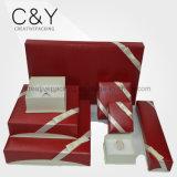 Caixa de jóia de papel da alta qualidade para a venda por atacado da jóia