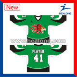 Healong preiswertes Preis-Sublimation-Eis-Hockey Jersey