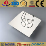 Tisco 201 304 316 walzte Spiegel-Ende-Edelstahl-Blatt der Belüftung-Beschichtung-8k kalt