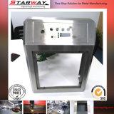 Fabricación de encargo del rectángulo del metal de hoja de acero estructural