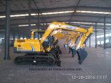 掘ることのための高性能8.5tons/0.5m3のバケツの掘削機かクローラー掘削機