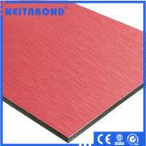 ACP de matériau d'aluminium de 4mm pour le matériau de décoration de construction