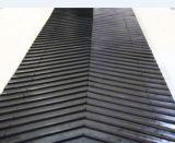 Chevron Rubber Conveyor Belts con Ribs Width 2000mm