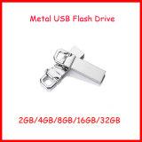 Mecanismo impulsor del flash del USB de Pendrive del palillo de la memoria de Pendrive del acero inoxidable mini