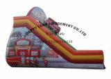 消防士の主題2の車線の膨脹可能なスライド