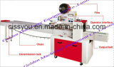 Chinees verkoopt de Automatische Horizontale Verpakkende Machine van de Snack van het Hoofdkussen van de Verpakking