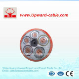 Câble électrique ignifuge d'incendie de 5 faisceaux