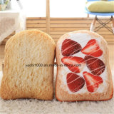Заполненный плюшем валик софы хлеба форменный