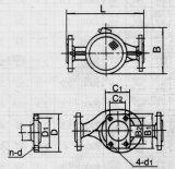 Esgoto bomba submersível No-entupimento Axial Flow & Mixed Bomba Centrífuga de fluxo