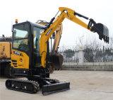Crawler машины RC Sany Sy16c 1.6ton Китая Sany землечерпалка миниого Digger гидровлическая