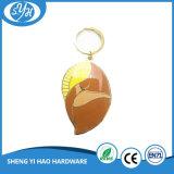 Kreative Entwurfs-Vergoldung-Korb-Form-harter Decklack Keychain