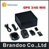 防水IP68警察のカメラHD携帯用GPS/4Gのボディによって身に着けられているカメラ