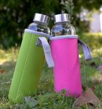 Sleeve Dn165のBPA Free Wholesale Glass Water Bottle